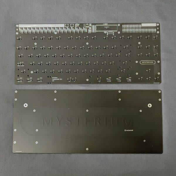 Mysterium TKL Through-Hole Kit Black PCB+Plate