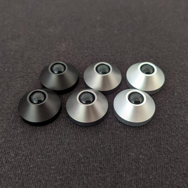 Aluminium Cone Feet