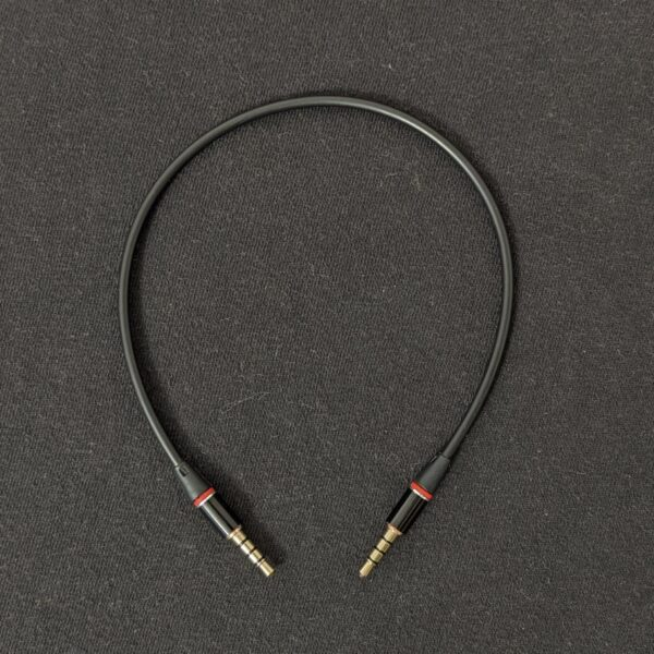 TRRS Cable Black 28 cm