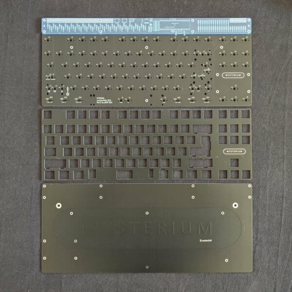 Mysterium V1.5 TKL Kit Black