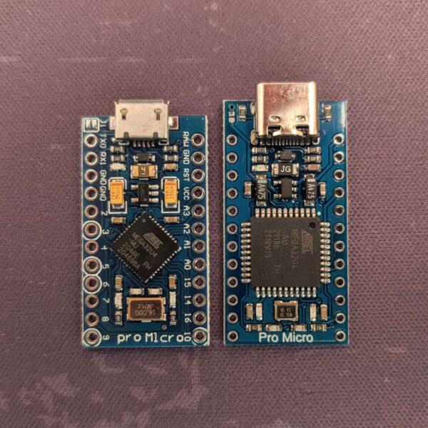 Pro Micro USB-C vs Standard